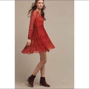 Anthropologie Canna Swing Dress by Maeve
